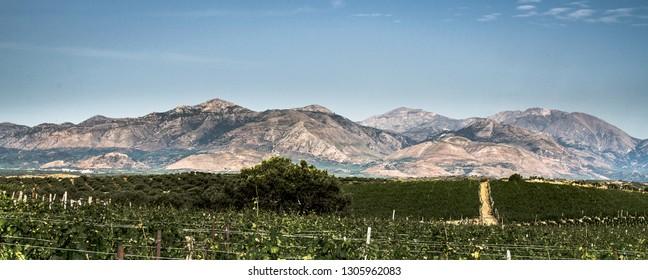 Cretan Mountains, Greece