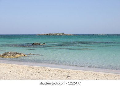 Crete / Beach of Elafonisi