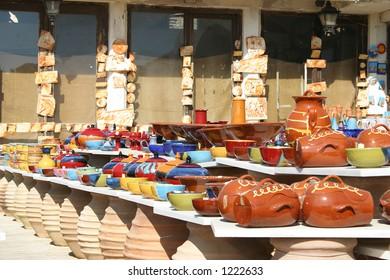 Crete / Ceramic market