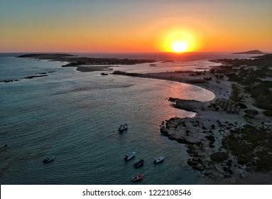 Crete Elafonisi sunset