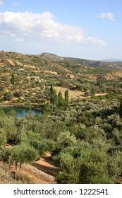 Crete / Fishpond Limni Votomou