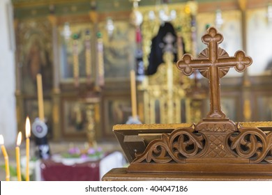 CRETE, GREECE - APRIL 05: Orthodox Church in Crete, Greece on April 05, 2016.