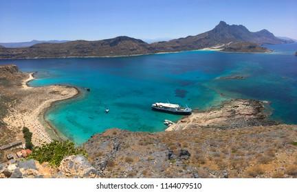 Crete Greece Gramvousa Balos Beach
