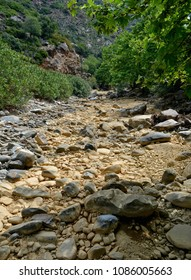Crete, Greece Riverbed Gorge Walk