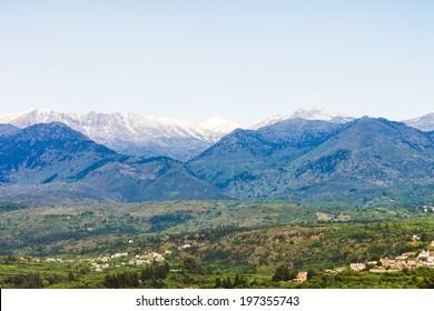 Crete - Greece - White mountains of Crete