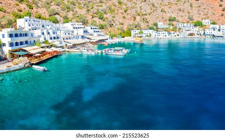 Crete, southern coast, village of Loutro
