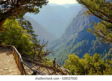 Crete-Samaria Gorge Overlook