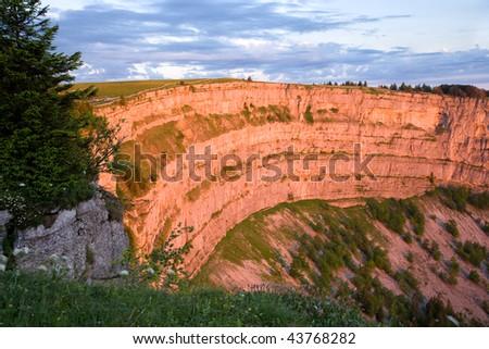 13d664d520 Creux Du Van Grand Canyon Switzerland Stock Photo (Edit Now ...