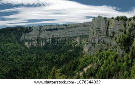 1234f1b3ec Creux Du Van Swiss Grand Canyon Stock Photo (Edit Now) 1078544039 ...