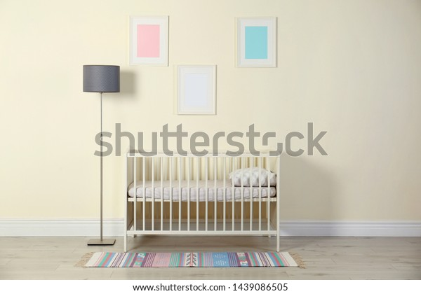 Gold Nursery Floor Lamp Transitional Nursery