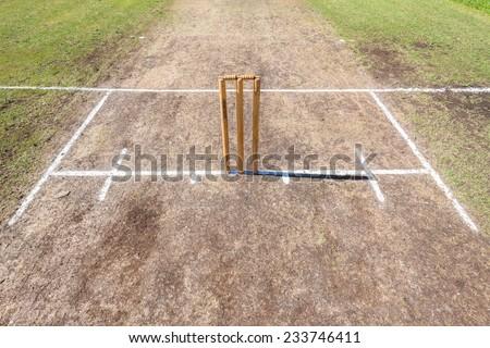 Cricket Wickets Field Cricket
