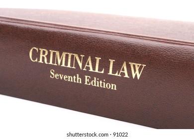 Crim Law Book