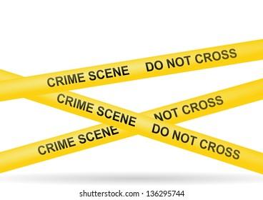 crime scene do not cross police yellow stop