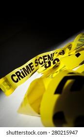 Crime scene 'Do not cross' tape