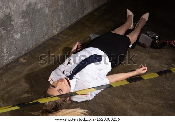 Crime scene photos nude women