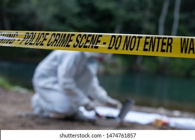 Crime scene investigation forensic equipment
