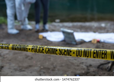 Crime Scene Investigation Forensic Equipment People Stock Image 1474762337