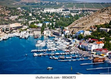Crimea, Balaklava bay