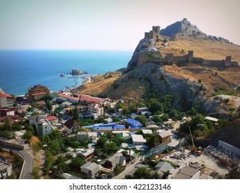 Crimea - the Black Sea city of Sudak