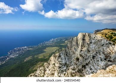 Crimea, Russia, Mountain Ai-Petri, Yalta