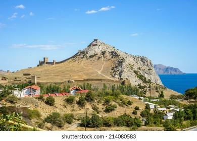 Crimea, southern coast of Crimea, near the town of Sudak
