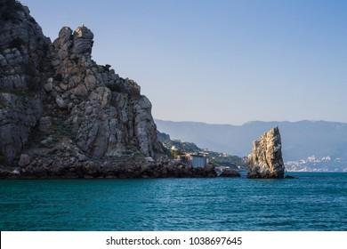Crimea, Yalta, The Rock of the Sail