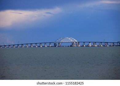 Crimean Bridge, Black Sea, Crimea