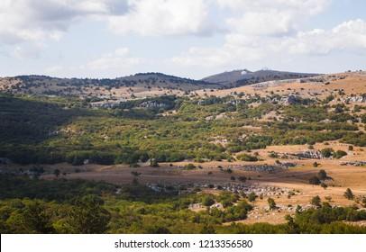 Crimean mountains, mountain Ai-Petri