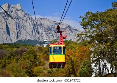 Crimea.Yalta. Funicular