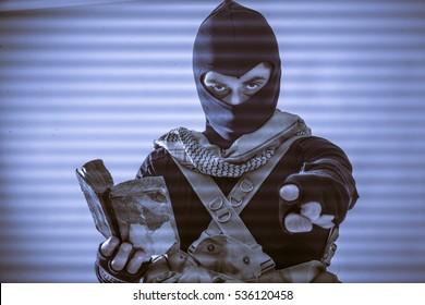Criminal menacing the world