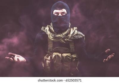 Criminal terrorism danger