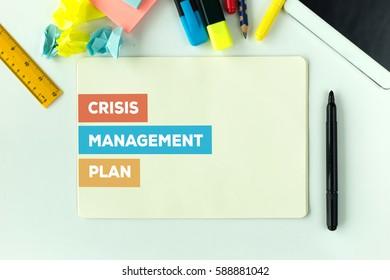 CRISIS MANAGEMENT PLAN CONCEPT