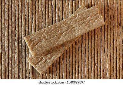 Crisp bread background