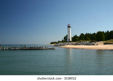 Crisp Point located in Michigan on Lake Superior.