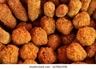 The crispy baked chicken nuggets