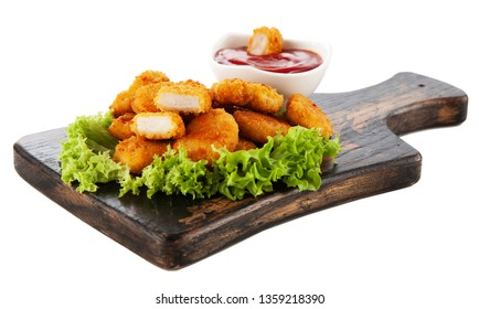 Crispy chicken nuggets