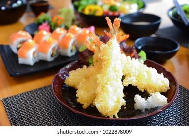 crispy deep fried tempura