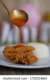 Crispy Fried Chicken in Indonesia
