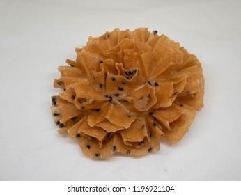 Crispy Lotus Blossom Cookie Images Stock Photos Vectors