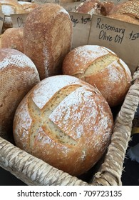 Crispy on the outside and soft on the inside. Perfect European style hearty healthy hearth baked bread. Organic and nutritious!