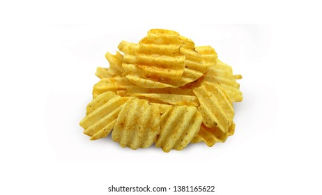 crispy potato fried chip snack junkfood