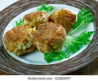 Crispy Rice Balls - Sharp Cheddar Arancini