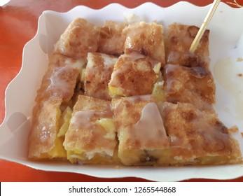 Crispy roti sweets