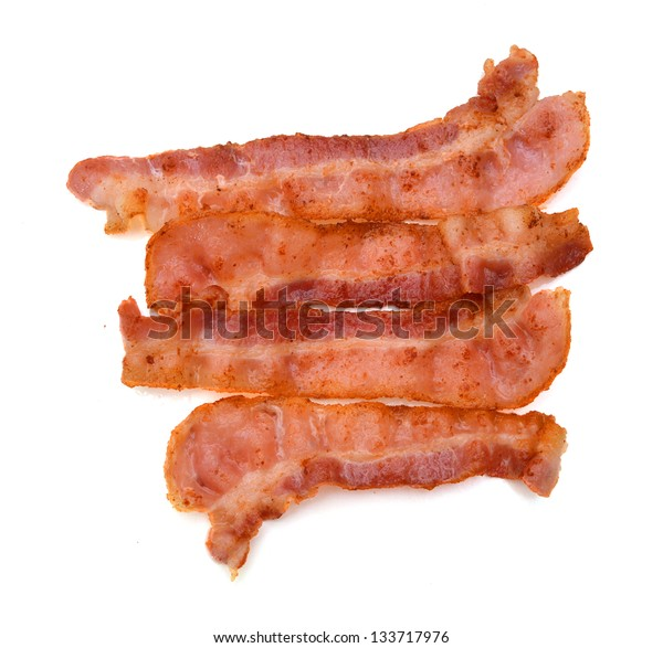 Crispy strips of bacon
