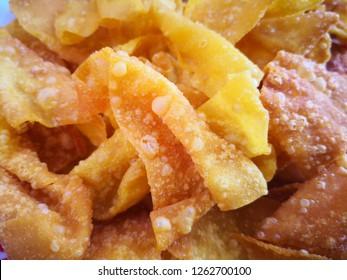 Crispy wonton, Thai snack