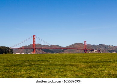 Crissy field and Golden Gate