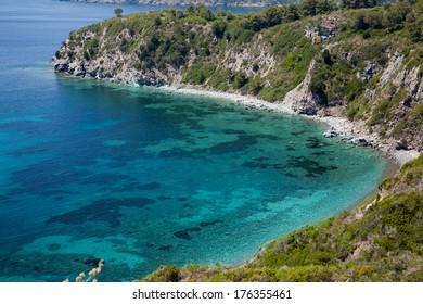 cristal water in Elba Island