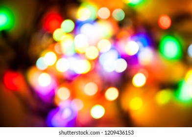 Cristmas colorful bokeh background
