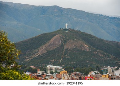 Cristo de la Concordia (Christ of Peace) is a statue of Jesus Christ located atop San Pedro Hill, to the east of Cochabamba, Bolivia.