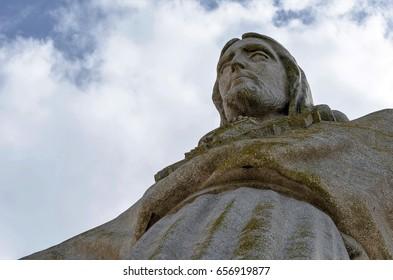 The Cristo Rei  monument of Jesus Christ in Lisbon